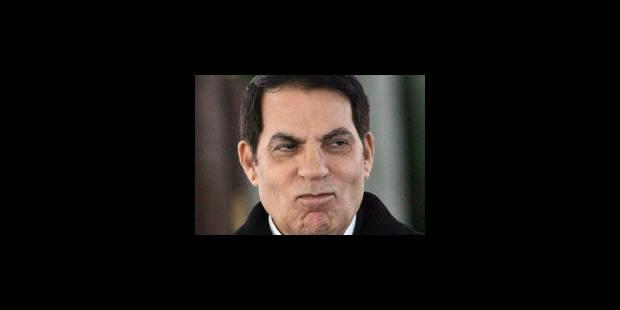 Ben Ali contesterait les accusations - La Libre
