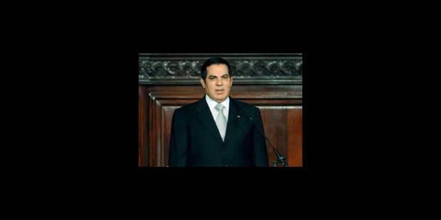 """Tunisie: l'ancien président Ben Ali dénonce une """"peine d'élimination"""" - La Libre"""