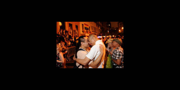 New York célèbre le vote sur le mariage homosexuel - La Libre