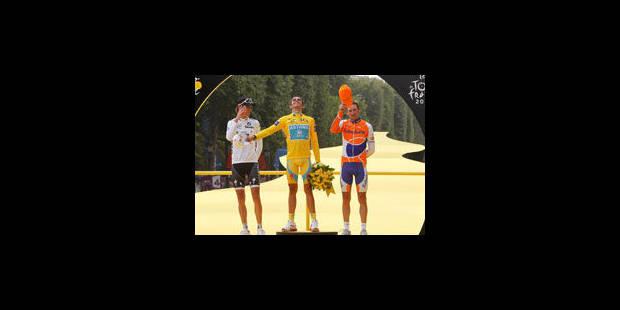 Le vainqueur du Tour empochera un chèque de 450.000 euros - La Libre
