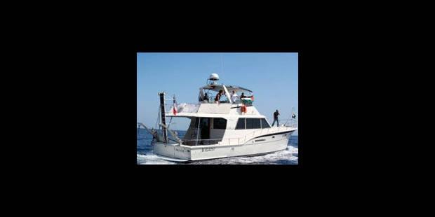 Flottille: un bateau en route vers Gaza - La Libre