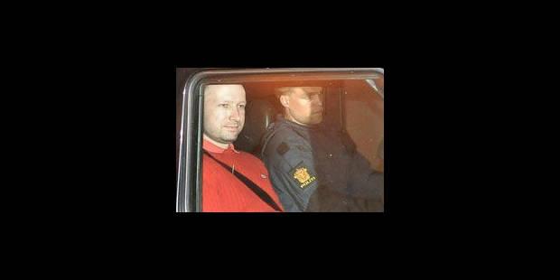 """Breivik a eu """"plusieurs cibles"""" - La Libre"""