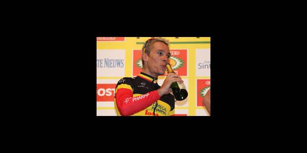 Gilbert vainqueur à San Sebastian - La Libre