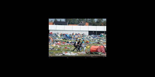 Pukkelpop: les festivaliers peuvent récupérer leurs objets perdus - La Libre