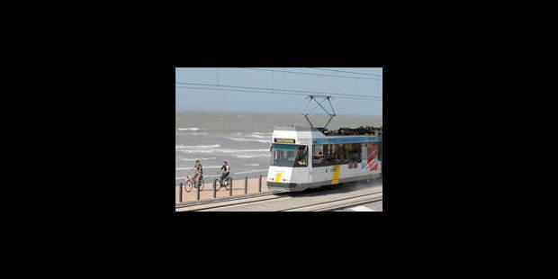 Le tram de la Côte a transporté moins de passagers cet été - La Libre