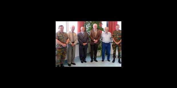 65 ans de présence militaire - La Libre