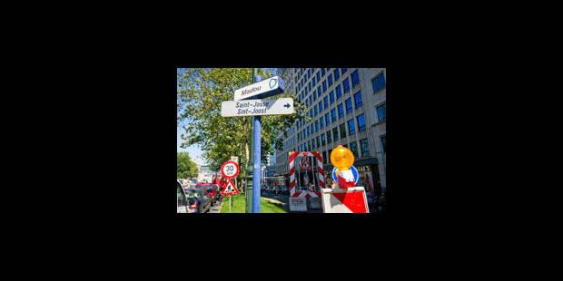 """Des embouteillages """"difficilement explicables"""" à Bruxelles - La Libre"""
