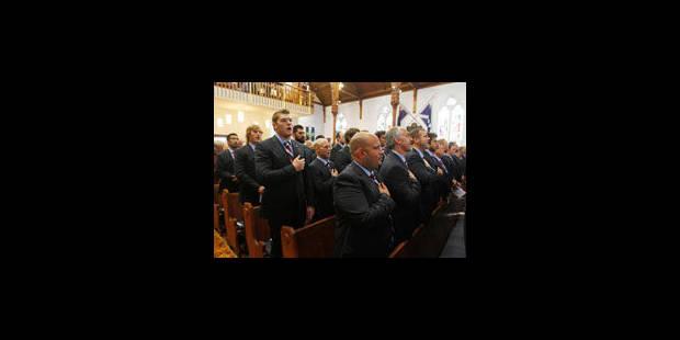 Rugby: une minute de silence avant Irlande - USA - La Libre