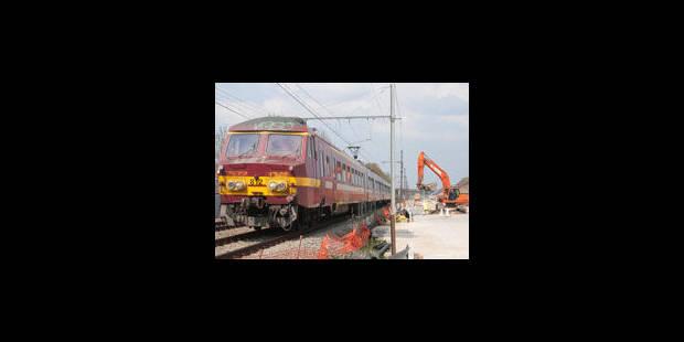 Week-end intensif sur les chantiers RER - La Libre