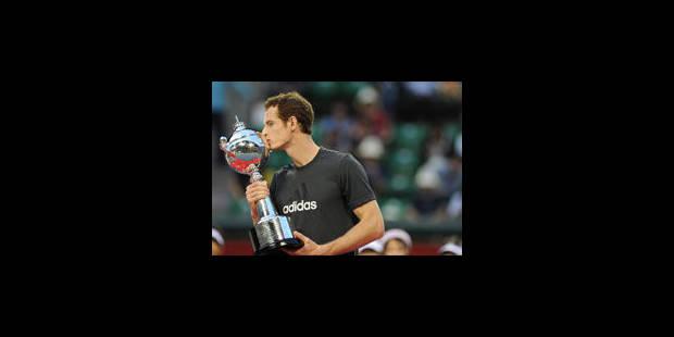 Andy Murray bat Rafael Nadal en finale à Tokyo - La Libre