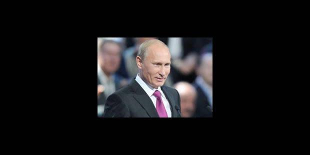 Russie Unie annonce Poutine comme candidat à la présidentielle russe - La Libre