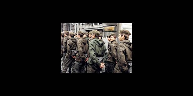 La moitié des militaires débutants quittent l'armée belge - La Libre