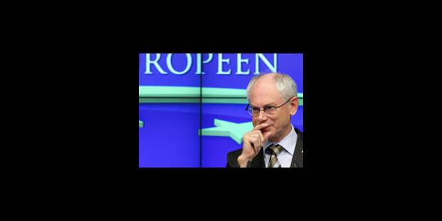 """Van Rompuy sur la Belgique: """"Nous sommes déjà contents qu'ils forment un gouvernement"""" - La Libre"""