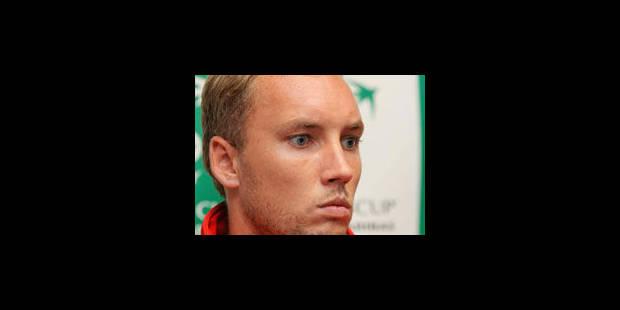 Steve Darcis éliminé en quarts de finale à Vienne - La Libre