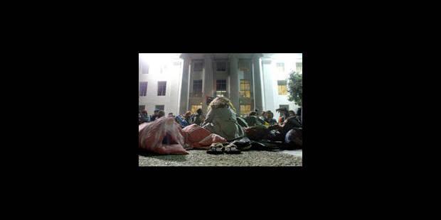 USA: la police veut la fermeture du camp d'Occupy après un décès - La Libre