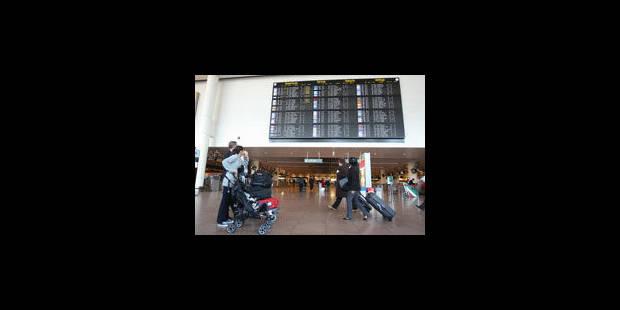 Coup de feu à Brussels Airport: un Américain blessé - La Libre