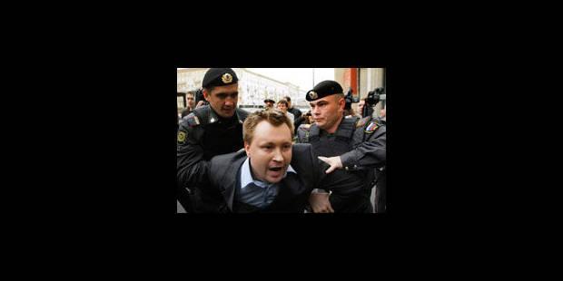 """Saint-Pétersbourg vote l'interdiction de la """"propagande"""" gay - La Libre"""