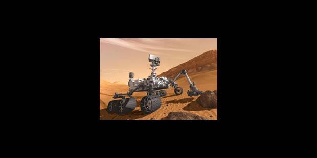 Une Jeep pour percer le mystère martien - La Libre