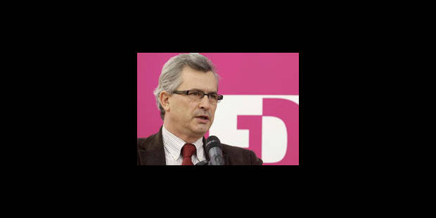 """Le FDF dénonce des """"mensonges"""" de l'équipe Di Rupo - La Libre"""
