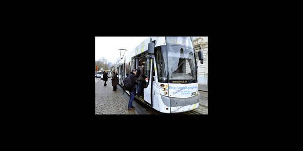 La circulation des trams meilleure que prévu à Bruxelles - La Libre