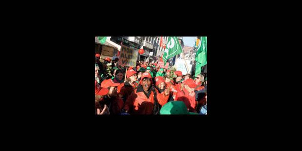 Près de 30 000 manifestants attendus mercredi à Liège - La Libre