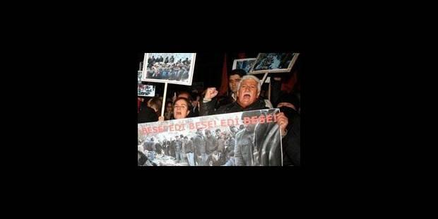 Manifestation de Kurdes dans les rues de Liège - La Libre