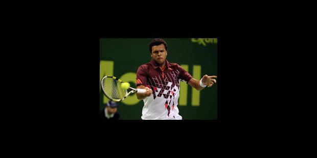 Jo-Wilfried Tsonga remporte le tournoi de Doha - La Libre