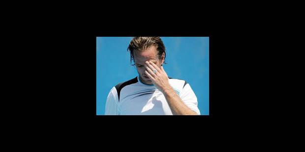 Abandon de Xavier Malisse au 1er tour - La Libre