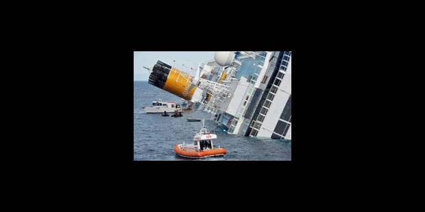 Concordia: des erreurs du commandant, selon la société de croisière - La Libre