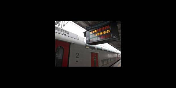 Pas de trains entre Bruxelles et Anvers - La Libre