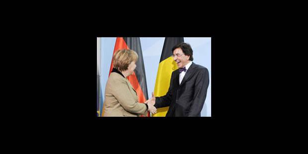 Elio Di Rupo a rencontré Angela Merkel - La Libre