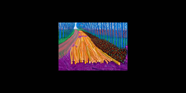David Hockney voit grand - La Libre