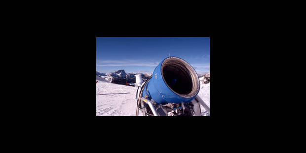 La montagne rongée par les canons à neige - La Libre