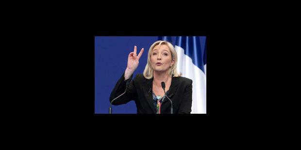 Marine Le Pen fait exploser l'audience de Ruquier - La Libre