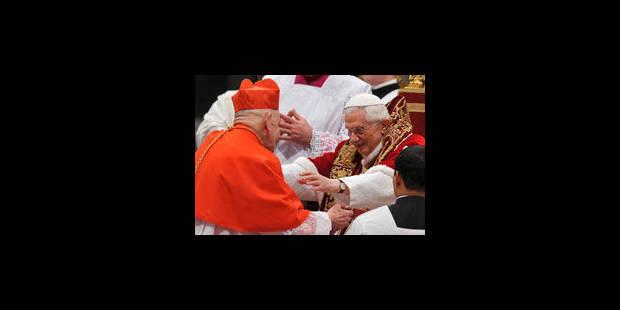 Le cardinal Ries salué par ses pairs - La Libre