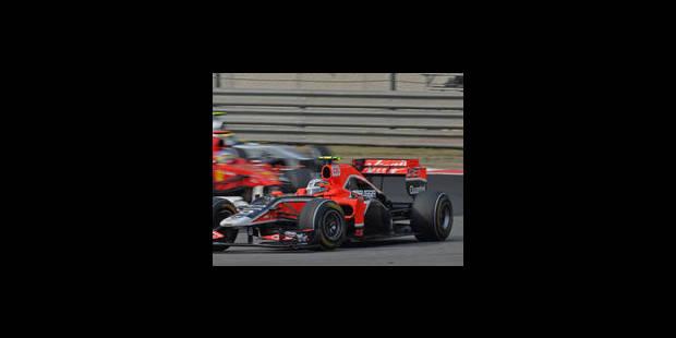 Une femme pilote d'essai en Formule 1 - La Libre