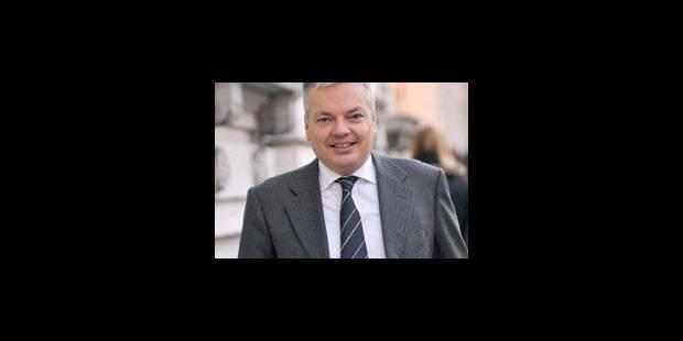 Reynders se rendra bien à Kinshasa - La Libre