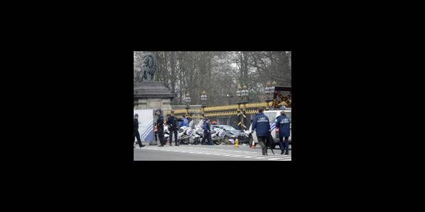 L'homme qui a fauché huit motards à Laeken placé sous mandat d'arrêt - La Libre