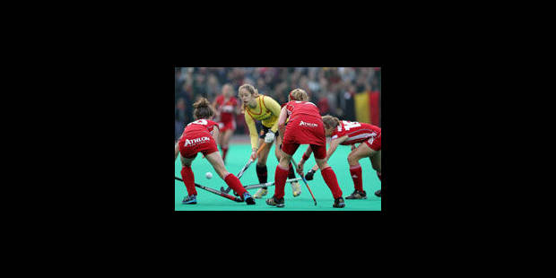 Les Belgian Panthers à un match des JO - La Libre