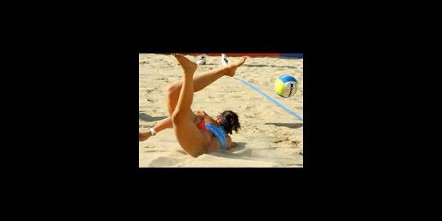 Beach-volley: le droit de ne plus porter le bikini - La Libre