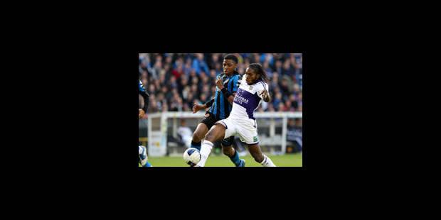 Anderlecht fait le break face à Bruges (0-1) - La Libre