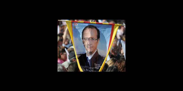 Hollande toujours vainqueur, mais en baisse - La Libre