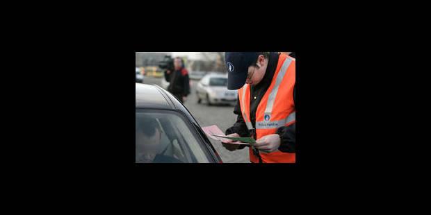 Contrôles: 10% des automobilistes contrôlés avaient trop bu - La Libre