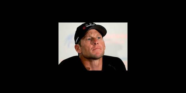 Armstrong : ses co-équipiers bientôt suspendus pour dopage - La Libre
