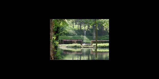 Jardins d'Annevoie: Marcourt n'entend pas faiblir - La Libre