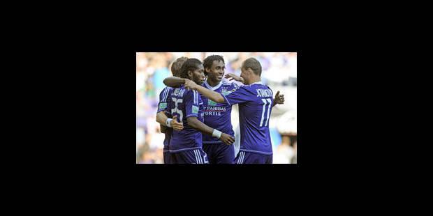 Anderlecht remporte la Supercoupe (3-2) - La Libre