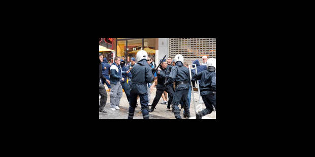 Violence contre la police : le parquet de Bruxelles sera ferme - La Libre