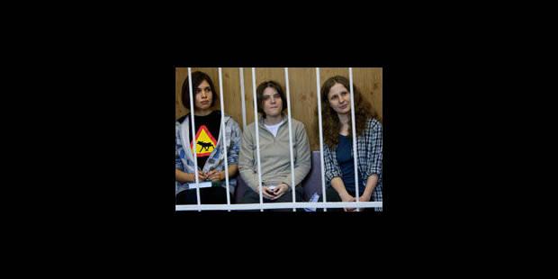 Les Pussy Riot fixées sur leur sort vendredi - La Libre