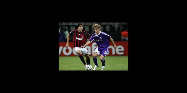 Le Sporting jouera l'AC Milan - La Libre
