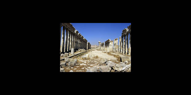 Le patrimoine syrien aussi assassiné - La Libre